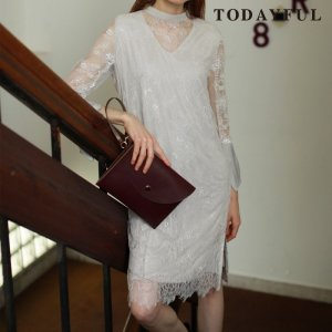 TODAYFUL トゥデイフル Sheer Lace Dress 11720318 【17AW2】【先行予約】【クレジット限定 納期12月〜1月頃予定】 <img class='new_mark_img2' src='https://img.shop-pro.jp/img/new/icons15.gif' style='border:none;display:inline;margin:0px;padding:0px;width:auto;' />