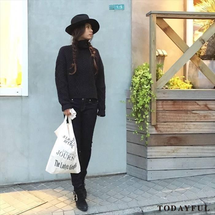 TODAYFUL トゥデイフル Patchwork Cable Knit 11620542 【16AW2】 【SALE】【30%OFF】