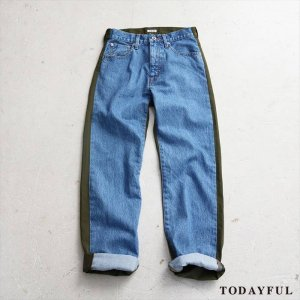【SOLDOUT】TODAYFUL トゥデイフル KASEY's Denim 11621413 【16AW2】 <img class='new_mark_img2' src='https://img.shop-pro.jp/img/new/icons47.gif' style='border:none;display:inline;margin:0px;padding:0px;width:auto;' />