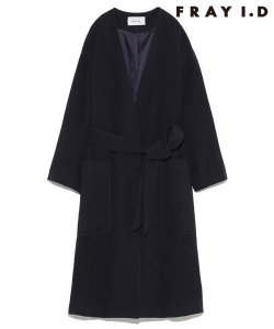 【SOLDOUT】FRAYI.D フレイアイディー ガウンコート FWFC165610 【16AW2】【50☆】<img class='new_mark_img2' src='https://img.shop-pro.jp/img/new/icons47.gif' style='border:none;display:inline;margin:0px;padding:0px;width:auto;' />