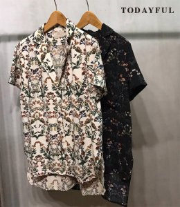 【SOLDOUT】TODAYFUL トゥデイフル Flower Print Shirts 11710453 【17SS2】 <img class='new_mark_img2' src='https://img.shop-pro.jp/img/new/icons47.gif' style='border:none;display:inline;margin:0px;padding:0px;width:auto;' />