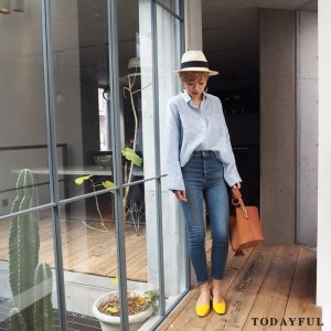 TODAYFUL トゥデイフル Ellie's Denim 11711417 【17SS2】【新作】 <img class='new_mark_img2' src='https://img.shop-pro.jp/img/new/icons11.gif' style='border:none;display:inline;margin:0px;padding:0px;width:auto;' />