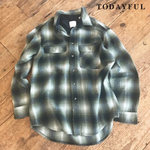 TODAYFUL トゥデイフル Onbre Check SH 11720429 【17AW2】【先行予約】【クレジット限定 納期10月〜11月頃予定】 <img class='new_mark_img2' src='https://img.shop-pro.jp/img/new/icons15.gif' style='border:none;display:inline;margin:0px;padding:0px;width:auto;' />