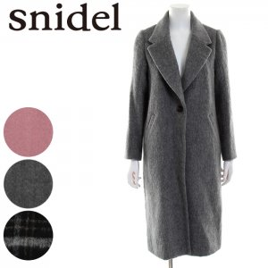 SNIDEL スナイデル シャギーロングCT SWFC165033 【16AW2】【SALE】【50%OFF】 <img class='new_mark_img2' src='https://img.shop-pro.jp/img/new/icons20.gif' style='border:none;display:inline;margin:0px;padding:0px;width:auto;' />