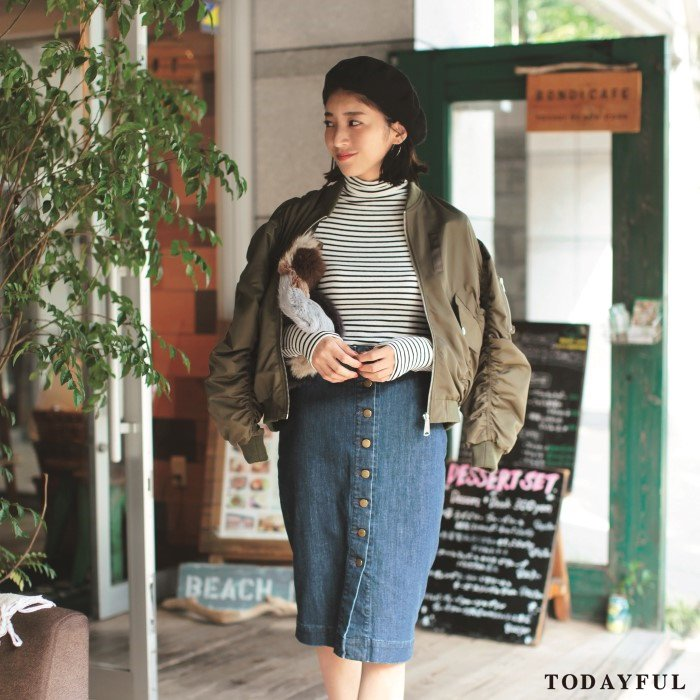 【SOLDOUT】TODAYFUL トゥデイフル Reversible MA-1 11620202 【16AW2】 【30☆】