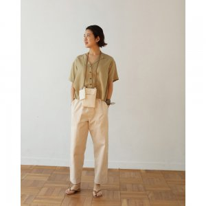 TODAYFUL トゥデイフル Gather Fatigue Pants 11910722 【19SS2】【新作】 <img class='new_mark_img2' src='https://img.shop-pro.jp/img/new/icons11.gif' style='border:none;display:inline;margin:0px;padding:0px;width:auto;' />