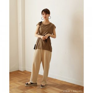 TODAYFUL トゥデイフル Centerpress Knit Pants 11910730 【19SS2】【新作】 <img class='new_mark_img2' src='https://img.shop-pro.jp/img/new/icons11.gif' style='border:none;display:inline;margin:0px;padding:0px;width:auto;' />