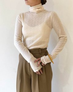 TODAYFUL トゥデイフル Jacquard Turtle Knit 11920515 【19AW1】【先行予約】【クレジット限定 納期9月〜10月頃予定】 <img class='new_mark_img2' src='https://img.shop-pro.jp/img/new/icons15.gif' style='border:none;display:inline;margin:0px;padding:0px;width:auto;' />