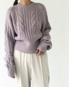 TODAYFUL トゥデイフル Soft Cable Knit 11920540 【19AW2】【先行予約】【クレジット限定 納期12月〜1月頃予定】 <img class='new_mark_img2' src='//img.shop-pro.jp/img/new/icons15.gif' style='border:none;display:inline;margin:0px;padding:0px;width:auto;' />