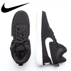 NIKE ナイキ ナイキ ウィメンズ コートバーロウ MID SL 【カラー: ブラックxホワイト】 845731-010 【16AW】 【新作】 <img class='new_mark_img2' src='//img.shop-pro.jp/img/new/icons11.gif' style='border:none;display:inline;margin:0px;padding:0px;width:auto;' />