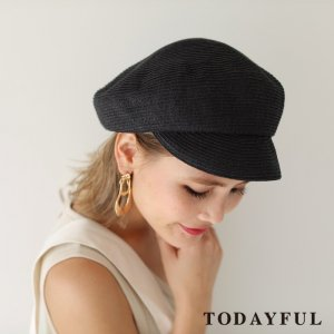TODAYFUL トゥデイフル Paper Blade Casquette 11811027 【18SS1】 【人気商品】