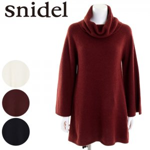 SNIDEL スナイデル タートルソフトニットオーバーOP SWNO165074 【16AW2】【SALE】【50%OFF】 <img class='new_mark_img2' src='https://img.shop-pro.jp/img/new/icons20.gif' style='border:none;display:inline;margin:0px;padding:0px;width:auto;' />