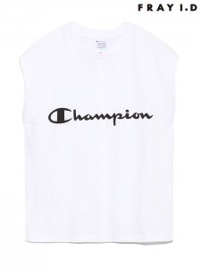 【SOLDOUT】FRAYI.D フレイアイディー × Champion タンクトップ FWCT182002 【18SS2】【人気商品】<img class='new_mark_img2' src='https://img.shop-pro.jp/img/new/icons47.gif' style='border:none;display:inline;margin:0px;padding:0px;width:auto;' />
