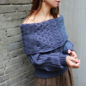 TODAYFUL トゥデイフル Offshoulder Cable Knit 11720553 【17AW2】【SALE】【20%OFF】<img class='new_mark_img2' src='https://img.shop-pro.jp/img/new/icons20.gif' style='border:none;display:inline;margin:0px;padding:0px;width:auto;' />