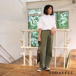 TODAYFUL トゥデイフル Highneck Voluminous Sweat 11720624 【17AW2】【新作】