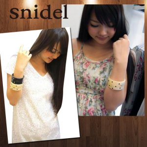 SNIDEL スナイデル アクリル バングル SGAA10423【10AW】【SALE】【60%OFF】<img class='new_mark_img2' src='//img.shop-pro.jp/img/new/icons20.gif' style='border:none;display:inline;margin:0px;padding:0px;width:auto;' />