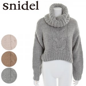【SOLDOUT】SNIDEL スナイデル ローゲージニットPO SWNT165112 【16AW2】【50☆】<img class='new_mark_img2' src='//img.shop-pro.jp/img/new/icons47.gif' style='border:none;display:inline;margin:0px;padding:0px;width:auto;' />