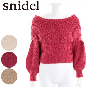【SOLDOUT】SNIDEL スナイデル モヘアオフショルニットPO SWNT165126 【16AW2】【50☆】 <img class='new_mark_img2' src='//img.shop-pro.jp/img/new/icons47.gif' style='border:none;display:inline;margin:0px;padding:0px;width:auto;' />