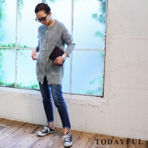 TODAYFUL トゥデイフル SARA's Denim 11721413 【17AW2】【先行予約】【クレジット限定 納期11月〜12月頃予定】 <img class='new_mark_img2' src='https://img.shop-pro.jp/img/new/icons15.gif' style='border:none;display:inline;margin:0px;padding:0px;width:auto;' />