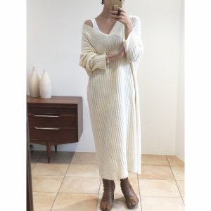 TODAYFUL トゥデイフル Soft Ribknit Dress 11820324 【18AW2】【先行予約】【クレジット限定 納期12月〜1月頃予定】 <img class='new_mark_img2' src='https://img.shop-pro.jp/img/new/icons15.gif' style='border:none;display:inline;margin:0px;padding:0px;width:auto;' />