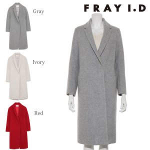 FRAYI.D フレイアイディー ラムウールチェスターコート FWFC174004 【17AW1】【SALE】【60%OFF】<img class='new_mark_img2' src='https://img.shop-pro.jp/img/new/icons20.gif' style='border:none;display:inline;margin:0px;padding:0px;width:auto;' />