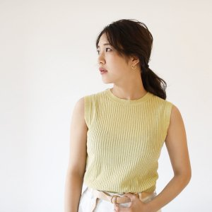TODAYFUL トゥデイフル Cotton Linen Tank 11810537 【18SS2】【先行予約】【クレジット限定 納期5月〜6月頃予定】 <img class='new_mark_img2' src='https://img.shop-pro.jp/img/new/icons15.gif' style='border:none;display:inline;margin:0px;padding:0px;width:auto;' />