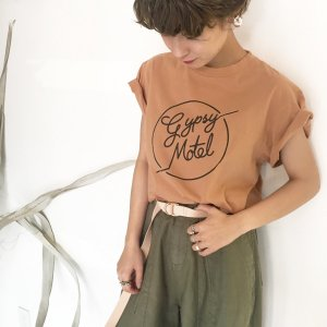 TODAYFUL トゥデイフル Gypsy Motel Tee 11810621 【18SS2】【先行予約】【クレジット限定 納期6月〜7月頃予定】 <img class='new_mark_img2' src='https://img.shop-pro.jp/img/new/icons15.gif' style='border:none;display:inline;margin:0px;padding:0px;width:auto;' />