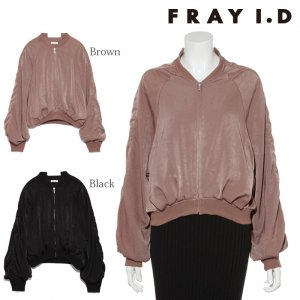 FRAYI.D フレイアイディー バックレースアップブルゾン FWFJ174524 【17AW1】【先行予約】【クレジット限定 納期2017/08/下〜09/下頃予定】<img class='new_mark_img2' src='https://img.shop-pro.jp/img/new/icons15.gif' style='border:none;display:inline;margin:0px;padding:0px;width:auto;' />