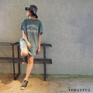【SOLDOUT】TODAYFUL トゥデイフル Vintage Tee OP 11710309 【17SS1】 <img class='new_mark_img2' src='https://img.shop-pro.jp/img/new/icons47.gif' style='border:none;display:inline;margin:0px;padding:0px;width:auto;' />