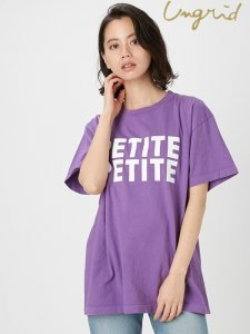 UNGRID アングリッド 【Ca】PETITEロゴTee 111822736301 【18SS2】【SALE】【30%OFF】<img class='new_mark_img2' src='https://img.shop-pro.jp/img/new/icons20.gif' style='border:none;display:inline;margin:0px;padding:0px;width:auto;' />