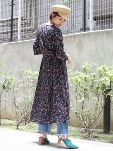 UNGRID アングリッド 【La】ボタニカルカシュクールワンピース 111740360701 【17AW2】【SALE】【30%OFF】<img class='new_mark_img2' src='https://img.shop-pro.jp/img/new/icons11.gif' style='border:none;display:inline;margin:0px;padding:0px;width:auto;' />
