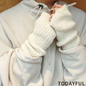 TODAYFUL トゥデイフル Knit Arm Warmer 11821007 【18AW2】【先行予約】【クレジット限定 納期10月〜11月頃予定】 <img class='new_mark_img2' src='https://img.shop-pro.jp/img/new/icons15.gif' style='border:none;display:inline;margin:0px;padding:0px;width:auto;' />