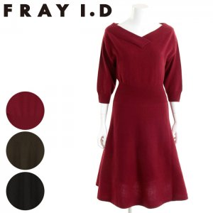 【SOLDOUT】FRAYI.D フレイアイディー オフショルダーウールカシミアOP FWNO165630 【16AW2】【50☆】<img class='new_mark_img2' src='https://img.shop-pro.jp/img/new/icons47.gif' style='border:none;display:inline;margin:0px;padding:0px;width:auto;' />