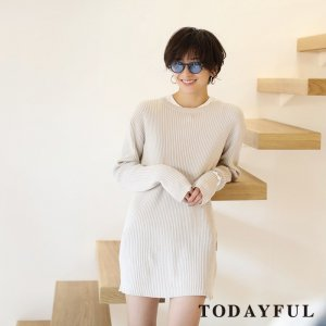 TODAYFUL トゥデイフル Ramie Knit OP 11810320 【18SS2】【新作】 <img class='new_mark_img2' src='https://img.shop-pro.jp/img/new/icons11.gif' style='border:none;display:inline;margin:0px;padding:0px;width:auto;' />