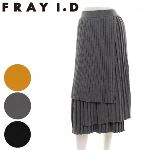【SOLDOUT】FRAYI.D フレイアイディー ニットプリーツスカート FWNS165724 【16AW2】【50☆】<img class='new_mark_img2' src='https://img.shop-pro.jp/img/new/icons47.gif' style='border:none;display:inline;margin:0px;padding:0px;width:auto;' />
