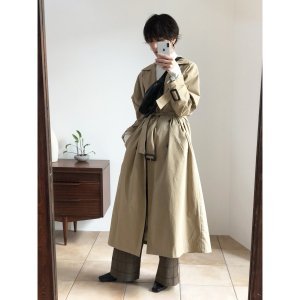 TODAYFUL トゥデイフル Over Trench Coat 11820003 【18AW1】【先行予約】【クレジット限定 納期9月〜10月頃予定】 <img class='new_mark_img2' src='https://img.shop-pro.jp/img/new/icons15.gif' style='border:none;display:inline;margin:0px;padding:0px;width:auto;' />