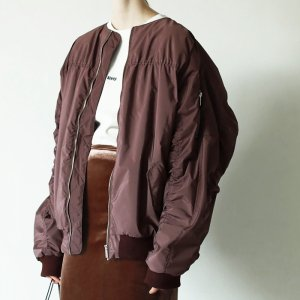 TODAYFUL トゥデイフル Oversize Gather MA-1 11820202 【18AW1】【先行予約】【クレジット限定 納期9月〜10月頃予定】 <img class='new_mark_img2' src='https://img.shop-pro.jp/img/new/icons15.gif' style='border:none;display:inline;margin:0px;padding:0px;width:auto;' />