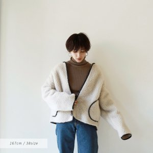 TODAYFUL トゥデイフル Piping Boa Blouson 11820205 【18AW1】【新作】 <img class='new_mark_img2' src='https://img.shop-pro.jp/img/new/icons15.gif' style='border:none;display:inline;margin:0px;padding:0px;width:auto;' />