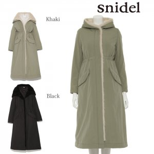 SNIDEL スナイデル ロングモッズコート SWFC174213 【17AW1】【新作】 <img class='new_mark_img2' src='https://img.shop-pro.jp/img/new/icons11.gif' style='border:none;display:inline;margin:0px;padding:0px;width:auto;' />