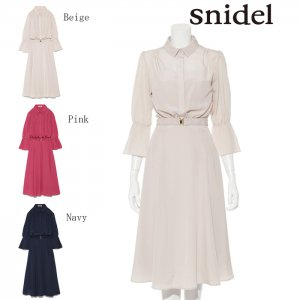 SNIDEL スナイデル レディライクシャツOP SWFO174094 【17AW1】【新作】<img class='new_mark_img2' src='https://img.shop-pro.jp/img/new/icons11.gif' style='border:none;display:inline;margin:0px;padding:0px;width:auto;' />