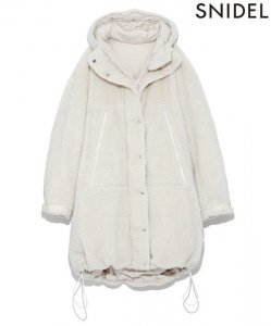 【SOLDOUT】SNIDEL スナイデル リバーシブルダウンボアコート SWFC185141 【18AW2】【50☆】<img class='new_mark_img2' src='https://img.shop-pro.jp/img/new/icons47.gif' style='border:none;display:inline;margin:0px;padding:0px;width:auto;' />