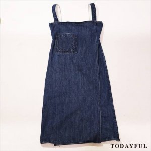 【SOLDOUT】TODAYFUL トゥデイフル Wrapdenim Salopette SK 11620330 【16AW2】 <img class='new_mark_img2' src='https://img.shop-pro.jp/img/new/icons47.gif' style='border:none;display:inline;margin:0px;padding:0px;width:auto;' />