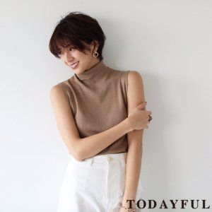 【完売】【SOLDOUT】TODAYFUL トゥデイフル Silk Highgauge Knit 11810506 【18SS1】【40☆】