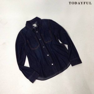 【SOLDOUT】TODAYFUL トゥデイフル Stitch Denim SH 11620420 【16AW2】 <img class='new_mark_img2' src='https://img.shop-pro.jp/img/new/icons47.gif' style='border:none;display:inline;margin:0px;padding:0px;width:auto;' />
