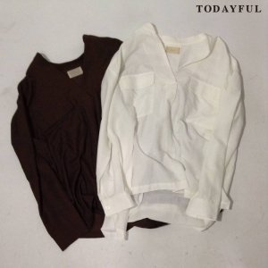 【SOLDOUT】TODAYFUL トゥデイフル Skipper Pocket SH 11620424 【16AW2】 <img class='new_mark_img2' src='https://img.shop-pro.jp/img/new/icons47.gif' style='border:none;display:inline;margin:0px;padding:0px;width:auto;' />