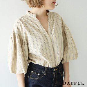 TODAYFUL トゥデイフル Yarn-dye Stripe Shirts 11720407 【17AW1】【先行予約】【クレジット限定 納期8月頃予定】 <img class='new_mark_img2' src='https://img.shop-pro.jp/img/new/icons15.gif' style='border:none;display:inline;margin:0px;padding:0px;width:auto;' />