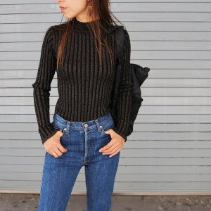 【完売】【SOLDOUT】TODAYFUL トゥデイフル Sheer Turtle Knit 11720512 【17AW1】【20☆】