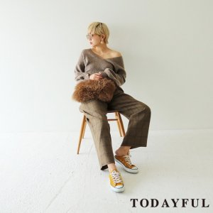 TODAYFUL トゥデイフル Balloonsleeve Mohair Knit 11720513 【17AW1】【済】<img class='new_mark_img2' src='https://img.shop-pro.jp/img/new/icons11.gif' style='border:none;display:inline;margin:0px;padding:0px;width:auto;' />