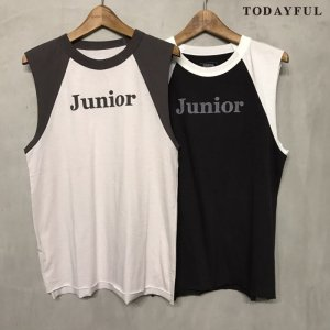 TODAYFUL トゥデイフル Cutoff Raglan Tanktop 11720620 【17AW1】【先行予約】【クレジット限定 納期8月頃予定】 <img class='new_mark_img2' src='https://img.shop-pro.jp/img/new/icons15.gif' style='border:none;display:inline;margin:0px;padding:0px;width:auto;' />