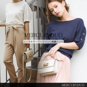 MERCURY マーキュリー レースモチーフ×ビジュー刺繍KT 001652600901 【16AW1】 【SALE】【30%OFF】 <img class='new_mark_img2' src='//img.shop-pro.jp/img/new/icons20.gif' style='border:none;display:inline;margin:0px;padding:0px;width:auto;' />